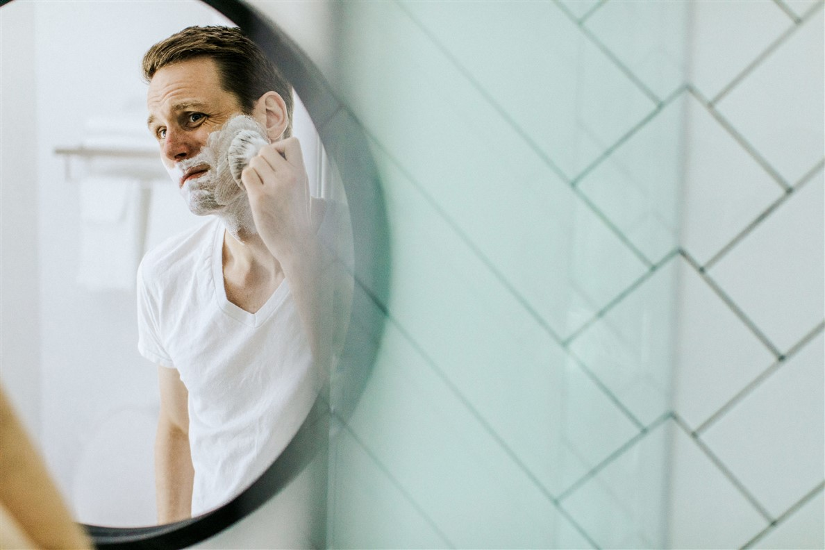 That Man in the Mirror Wants More Than a Close Shave